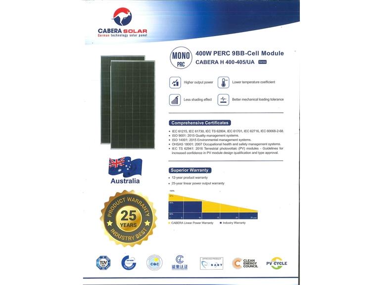 Tấm Cabera Solar